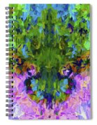 Abstract Series B4 Spiral Notebook