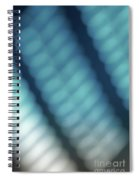 Abstract Blue Reflections Spiral Notebook