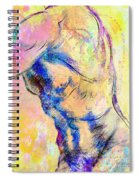 Abstract Bod 6 Spiral Notebook