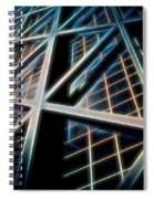 Abstract Buildings Spiral Notebook