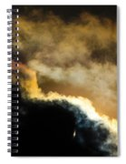 Abstract By Eclipse Spiral Notebook
