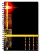 Abstract Church Spiral Notebook