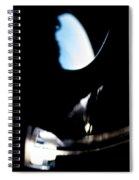 Abstract Cirrus Spiral Notebook