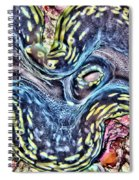 Fluted Giant Clam Spiral Notebook