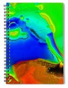 Abstract Color Fun Spiral Notebook