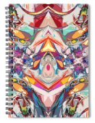 Abstract Color Mix Spiral Notebook