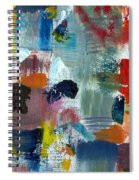 Abstract Color Relationships Lv Spiral Notebook