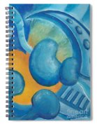 Abstract Color Study Spiral Notebook