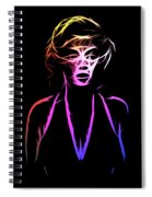 Abstract Colorful Monroe Spiral Notebook