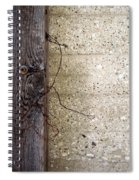 Abstract Concrete 11 Spiral Notebook