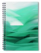 Abstract Cool Waves 2  Spiral Notebook