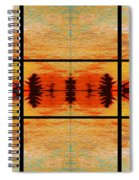 Abstract Cracker Tapestry Spiral Notebook