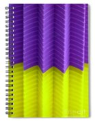 Abstract Cups Spiral Notebook