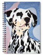 Abstract Dalmatian Spiral Notebook