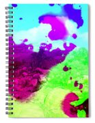 Abstract Desert Scene Spiral Notebook