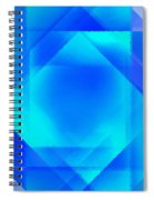 Abstract Diamond Spiral Notebook