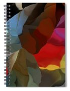 Abstract Distraction Spiral Notebook