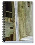 Abstract Doors Spiral Notebook