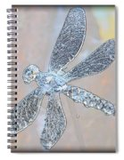 Abstract Dragonfly Spiral Notebook