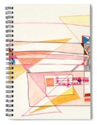 Abstract Drawing Eighteen Spiral Notebook