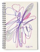 Abstract Drawing Fifty-six Spiral Notebook