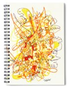 Abstract Drawing Fifty-three Spiral Notebook