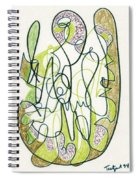Abstract Drawing Forty-four Spiral Notebook