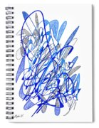 Abstract Drawing Seventy Spiral Notebook