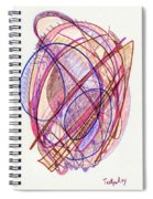 Abstract Drawing Twenty-two Spiral Notebook