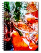 Abstract Drink Spiral Notebook