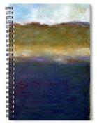 Abstract Dunes Ll Spiral Notebook