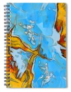 Abstract Elements  Spiral Notebook