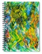 Abstract - Emotion - Admiration Spiral Notebook
