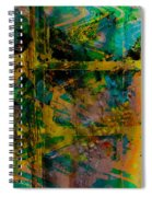 Abstract - Emotion - Facade Spiral Notebook