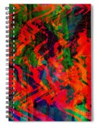 Abstract - Emotion - Rage Spiral Notebook