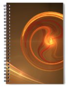 Abstract Energy Spiral Notebook