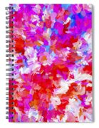Abstract Series Ex2 Spiral Notebook