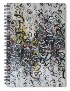 Abstract Expressionism 221 Spiral Notebook
