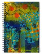 Abstract Expressions - Background Art Spiral Notebook