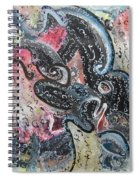 Abstract Expressionsim 02 Spiral Notebook