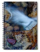 Abstract Falls Spiral Notebook