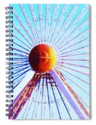 Abstract Ferris Wheel Spiral Notebook