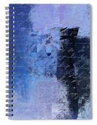 Abstract Floral - 04tl4t2b Spiral Notebook