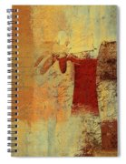 Abstract Floral - 14v4i-t2b2 Spiral Notebook