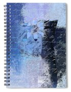 Abstract Floral - Bl3v3t1 Spiral Notebook