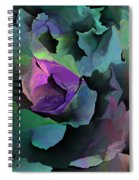 Abstract Floral Expression 041213 Spiral Notebook