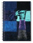 Abstract Floral - H15bt3 Spiral Notebook