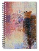 Abstract Floral - Xs01bt2 Spiral Notebook
