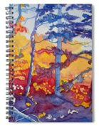 Abstract Forest No. 1 Spiral Notebook