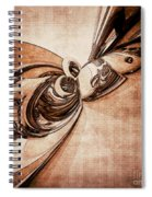 Abstract Form 2 Spiral Notebook